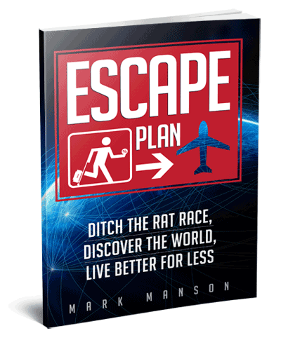 Escape Plan Ditch The Rat Race, Discover The World, Live Better For Less ebook by Mark Manson